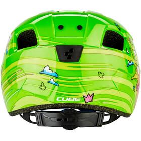 Cube Pebble Helm Kinder green friends